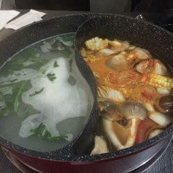 コーズウェイベイの人気火鍋 Seansin Seafood Hotpot Experts