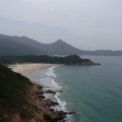 香港 最高のキャンプスポット 大浪湾(Tai Long Wan)ビーチ