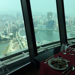 マカオタワーの回転展望レストランが素晴らし過ぎる件