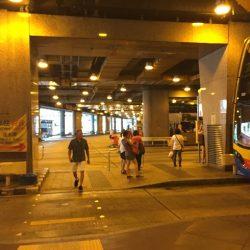 セントラル バスに乗りたければエクスチェンジスクウェアに行こ