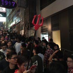 香港のハロウィーン @ランカイフォン