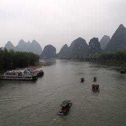 桂林旅行 4泊4日一人旅 ⑨ 福利古鎮景区へサイクリング