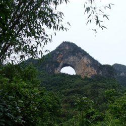 桂林旅行 4泊4日 一人旅 ⑩ 月亮山に登る